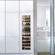 LIEBHERR 80 BOTTLE INTEGRATED/BUILT-IN DUAL ZONE WINE CELLAR - EWTdf3553