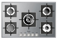 ILVE 75CM SUPER-INOX GAS COOKTOP - ILSS775