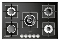 ILVE 75CM GAS ON GLASS COOKTOP - ILBV775