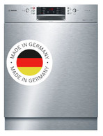 BOSCH S/STEEL BUILT IN DISHWASHER - SERIES 6 - SMU66JS01A