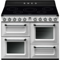 SMEG 110CM HERITAGE VICTORIA INDUCTION COOKER FREESTANDING OVEN - TR4110I + Colour