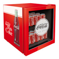 HUSKY 46L COCA COLA GLASS DOOR BAR FRIDGE - CKK50-130-AU-HU