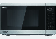 SHARP MIDSIZE S/STEEL INVERTER MICROWAVE - 1200W - R395EST
