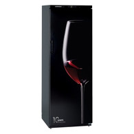 LIEBHERR 195 BOTTLE SINGLE ZONE BARRIQUE WINE CELLAR - SOLID DOOR - 10TH ANNIVERSARY EDITION  - WKb 4601