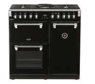 BELLING 90CM RICHMOND DELUXE DUAL FUEL COOKER - SPLIT OVENS - BRD900DF + Colour
