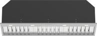 WHISPAIR 120CM MONTE CARLO SUPER DEEP CONCEALED HOOD - 1680m3/hr ONBOARD MOTOR - X3MD12S6.OU