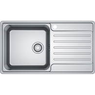 FRANKE BELL SINGLE BOWL STAINLESS STEEL FLUSHMOUNT SINK - BCX 611