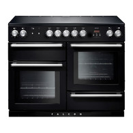 FALCON 110CM NEXUS BLACK FREESTANDING OVEN WITH INDUCTION COOKTOP- SPLIT OVENS - NEX110EIBL/CH (MK1) - CLEARANCE*