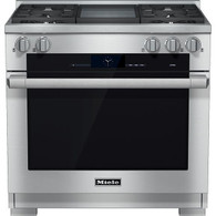 MIELE 91.5CM (36 INCH) FREESTANDING COOKER - HR 1936 G