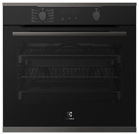 ELECTROLUX 60CM MULTIFUNCTION BAKE & STEAM PYROLYTIC OVEN - EVEP614DSD
