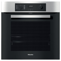 MIELE 60CM PURELINE CLEANSTEEL PYROLYTIC OVEN - H2267-1 BP