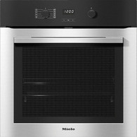 MIELE 60CM CONTOURLINE CLEANSTEEL PYROLYTIC OVEN - H2760 BP