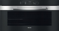 MIELE 90CM PURELINE CLEAN STEEL OVEN - 8 FUNCTIONS - H2890 B