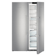 LIEBHERR 726L BLUPERFORMANCE SBS PAIR -  FREESTANDING FRIDGE WITH BIOFRESH PLUS & FREEZER - SBSes 8673