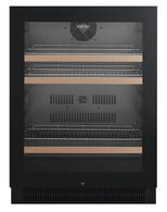 VINTEC 100 BOTTLE BLACK BEVERAGE CENTRE - VBS050SBB-X