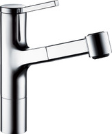 KWC AVA CHROME PULL-OUT TAP - 10.191.033.000
