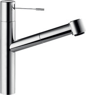 KWC ONO STAINLESS STEEL SPRAY PULL-OUT TAP - 10.151.033.700