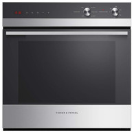 FISHER & PAYKEL 60CM S/STEEL BUILT-IN OVEN - 5 FUNCTION - OB60SC5LCX1