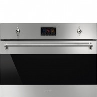 SMEG 60CM CLASSIC STAINLESS STEEL BUILT IN COMPACT SPEED OVEN - SFA4303MCX