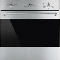 SMEG 60CM CLASSIC STAINLESS STEEL BUILT IN OVEN - SFA63M3TVX