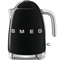 SMEG BLACK RETRO STYLE ELECTRIC KETTLE - KLF03BLAU