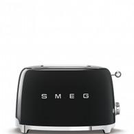 SMEG BLACK RETRO STYLE 2 SLICE TOASTER - TSF01BLAU