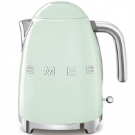 SMEG PASTEL GREEN RETRO STYLE ELECTRIC KETTLE - KLF03PGAU