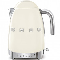 SMEG CREAM RETRO STYLE VARIABLE TEMPERATURE ELECTRIC KETTLE - KLF04CRAU