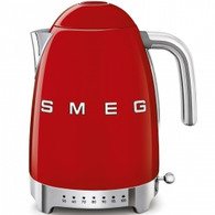 SMEG RED RETRO STYLE VARIABLE TEMPERATURE ELECTRIC KETTLE - KLF04RDAU