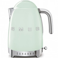 SMEG PASTEL GREEN RETRO STYLE VARIABLE TEMPERATURE ELECTRIC KETTLE - KLF04PGAU