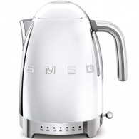 SMEG STAINLESS STEEL RETRO STYLE VARIABLE TEMPERATURE ELECTRIC KETTLE - KLF04SSAU