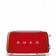 SMEG RED RETRO STYLE  4 SLICE TOASTER - TSF02RDAU