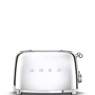 SMEG STAINLESS STEEL RETRO STYLE  4 SLICE EXTRA WIDE TOASTER - TSF03SSAU