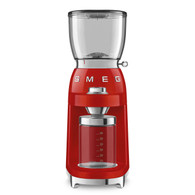 SMEG RED RETRO STYLE COFFEE GRINDER - CGF01RDAU