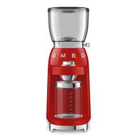 SMEG RED RETRO STYLE COFFEE GRINDER - CGF01RDAU