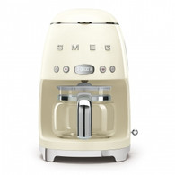 SMEG CREAM RETRO STYLE DRIP COFFEE MACHINE - DCF02CRAU