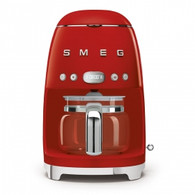 SMEG RED RETRO STYLE DRIP COFFEE MACHINE - DCF02RDAU