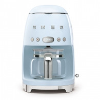 SMEG PASTEL BLUE RETRO STYLE DRIP COFFEE MACHINE - DCF02PBAU