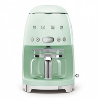 SMEG PASTEL GREEN RETRO STYLE DRIP COFFEE MACHINE - DCF02PGAU
