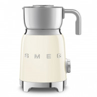 SMEG CREAM RETRO STYLE MILK FROTHER - MFF01CRAU