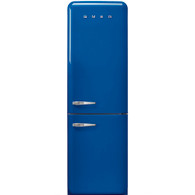 SMEG 326L ROYAL BLUE RETRO STYLE BOTTOM MOUNT REFRIGERATOR FREEZER - FAB32RBENA1-CL