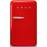 SMEG 135L RED RETRO STYLE BAR REFRIGERATOR - FAB10HRR