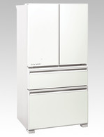 MITSUBISHI 630L LX GRANDE WHITE FRENCH DOOR FRIDGE - MR-LX630EM-GWH-A2