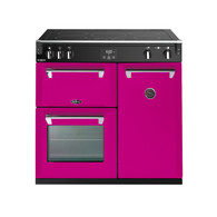 BELLING 90CM RICHMOND DELUXE INDUCTION COOKER - SPLIT OVENS - BRD900I + Boutique Colour