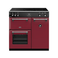 BELLING 90CM RICHMOND DELUXE INDUCTION COOKER - SPLIT OVENS - BRD900I + Boutique Colour