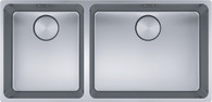 FRANKE MYTHOS DOUBLE BOWL SINK WITH ACCESSORIES - MULTI-INSTALL - MYX220-50/34FPC