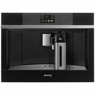 SMEG LINEA 45CM AUTOMATIC BUILT-IN COFFEE MACHINE - BLACK - CMS4104N