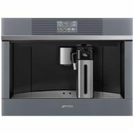 SMEG LINEA 45CM AUTOMATIC BUILT-IN COFFEE MACHINE - SILVER - CMS4104S