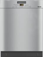 MIELE CLEAN STEEL BUILT-UNDER DISHWASHER - G5000SCU CLST