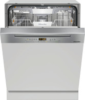 MIELE CLEAN STEEL SEMI-INTEGRATED DISHWASHER - G5210SCi CLST